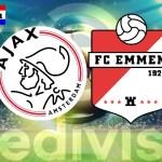 Eredivisie live stream Ajax – FC Emmen