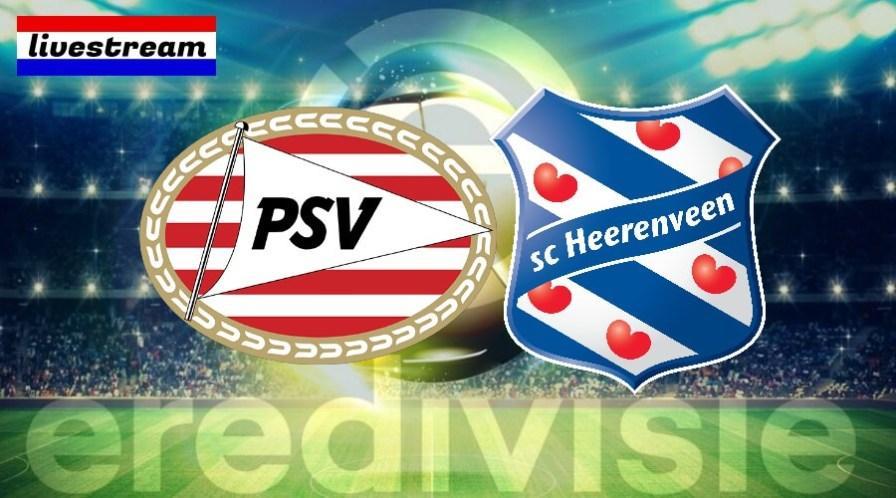 Eredivisie livestream PSV - SC Heerenveen