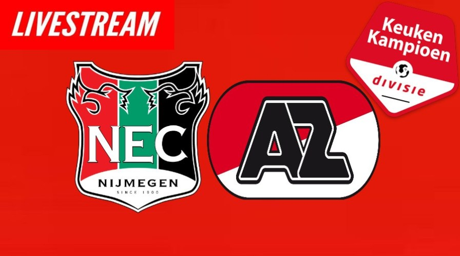 Livestream NEC - Jong AZ Keuken Kampioen Divisie