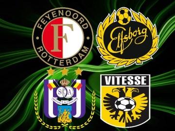 Gratis live stream Feyenoord - Elfsborg en Anderlecht - Vitesse