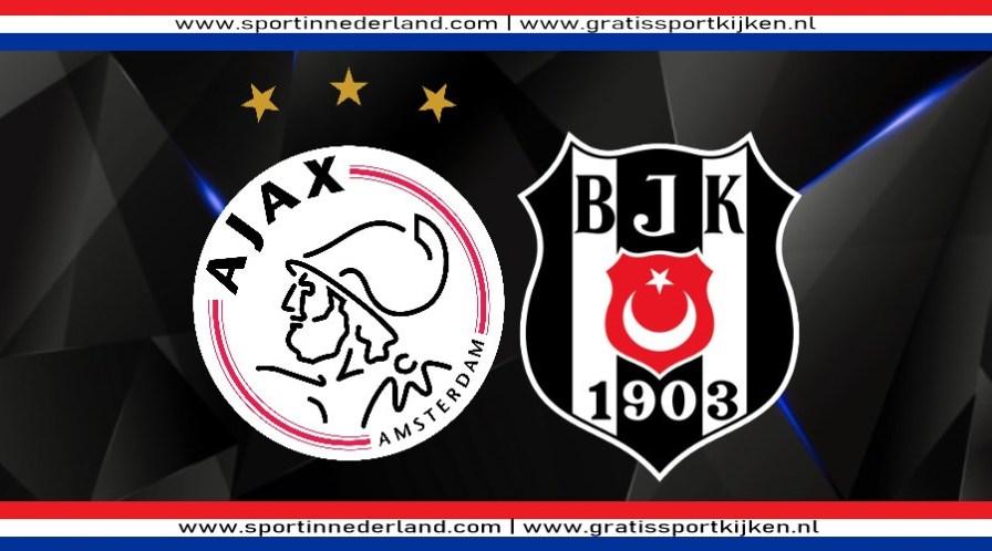 Champions League livestream Ajax - Besiktas