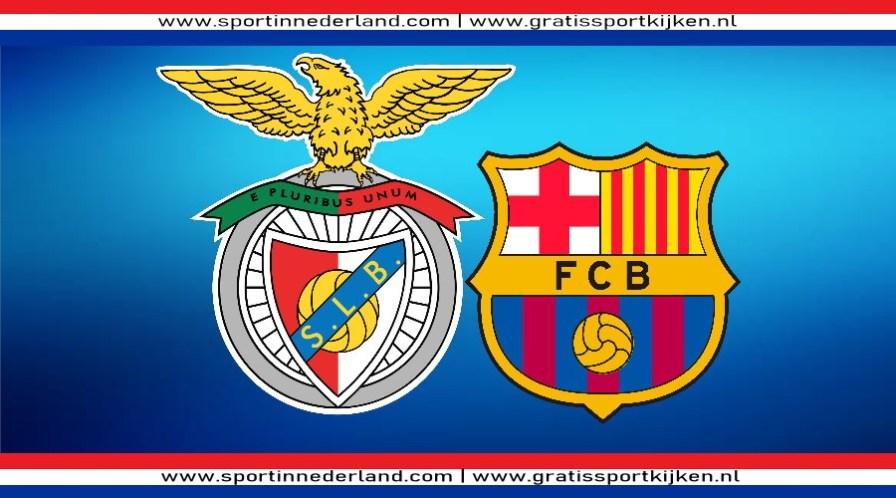 Champions League livestream Benfica - FC Barcelona
