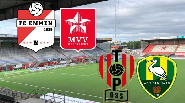 FC Emmen - MVV en TOP - ADO kijken via een livestream