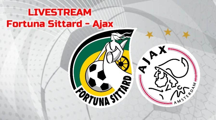 Kijk Fortuna Sittard - Ajax via een livestream