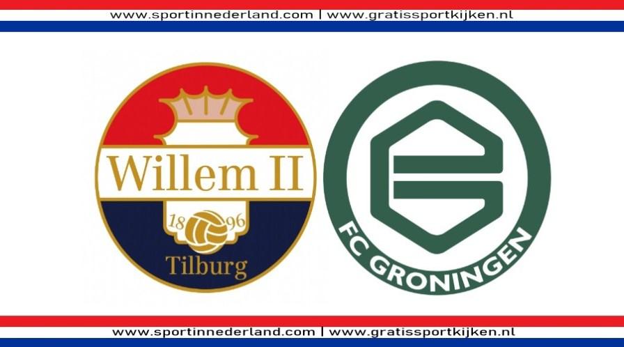 Kijk hier via een livestream Willem II - FC Groningen