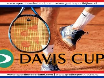 Uruguay - Nederland Davis Cup tennis live stream