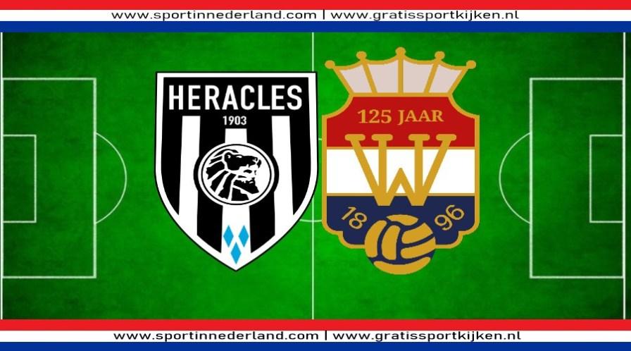 Heracles - Willem II kijken via een livestream