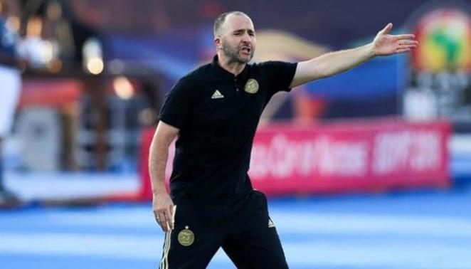 Djamel Belmadi, entraîneur de l'équipe nationale algérienne