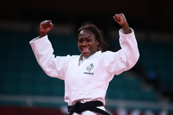 La judoka française Clarice Agbenino