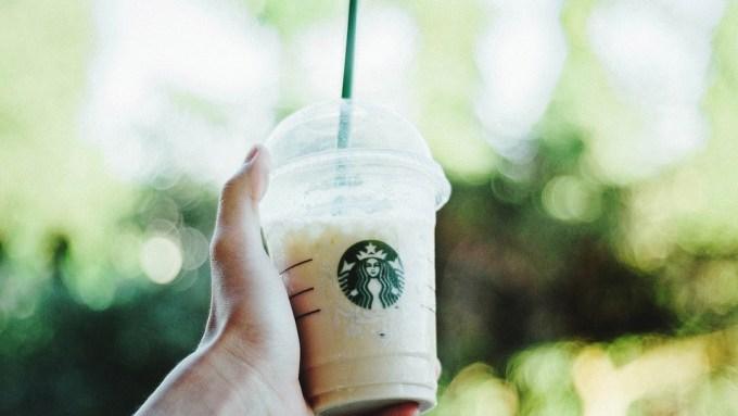 pailles en plastique de chez Starbucks