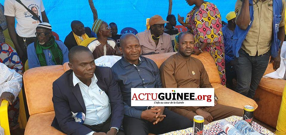 yaya - Campagne électorale : Diakaria Koulibaly ovationné à Kantoumanina(Mandiana)