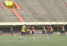 Préparation match retour contre Madagascar