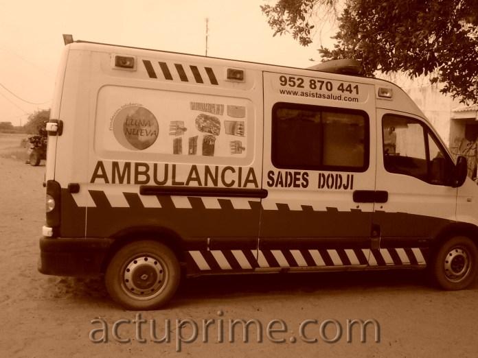 Dodji bénéficie d'une ambulance dans le cadre de la coopération décentralisée