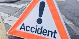 Accident près de Tambacounda