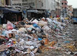Pluies et ordures à Dakar