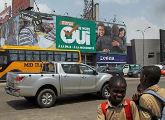 Le référendum constitutionnel en Côte d'Ivoire