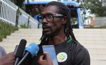 Aliou Cissé sélectionneurs des lions