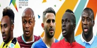 Sadio Mané parmi les 5 meilleurs joueurs africains