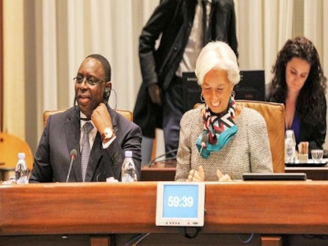 Le FMI a reçu Macky Sall