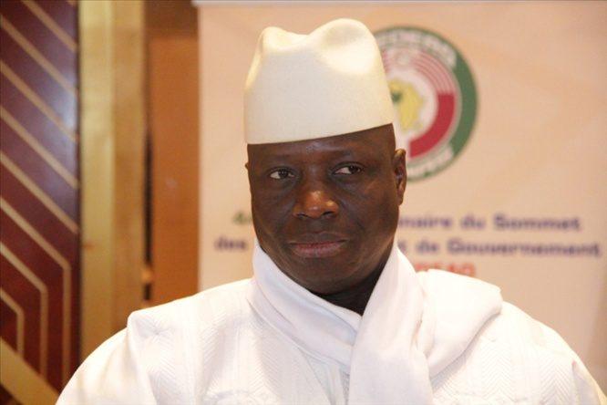 Une loi d'amnistie pour Yahya Jammeh