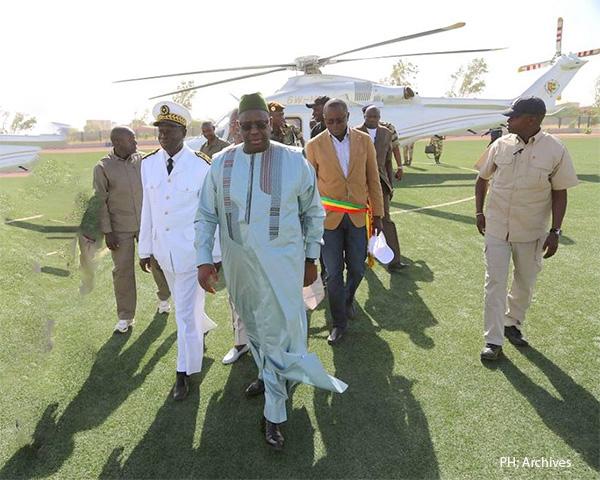 Macky Sall à Ndioum