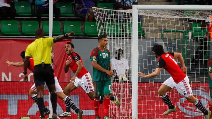 L'Egypte bat le Maroc