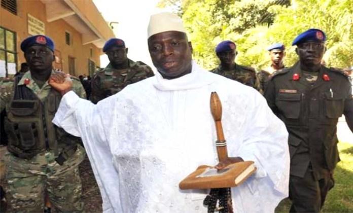 Yahya Jammeh nargue la CEDEAO