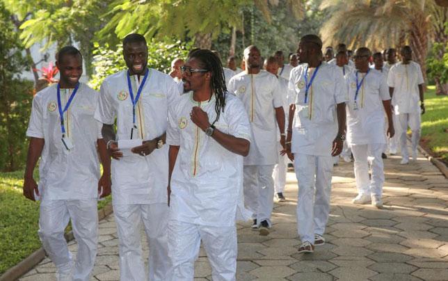 Aliou Cissé et son groupe