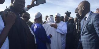 Adama Barrow de retour