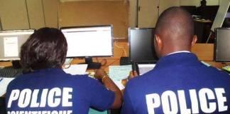 La police scientifique du Sénégal