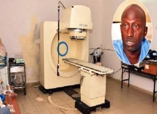 L'appareil de radiothérapie de l'hôpital Le Dantec