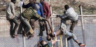 Ceuta, migrants
