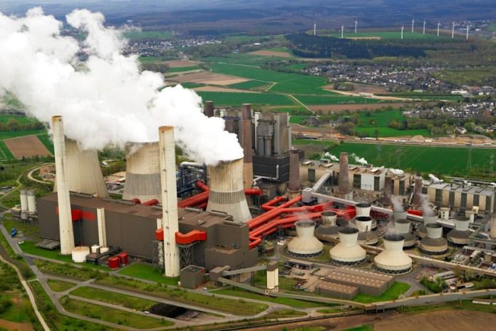 La centrale électrique à charbon de Sendou