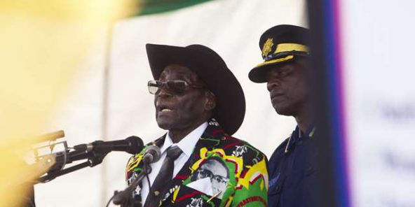 Robert Mugabe à Singapour