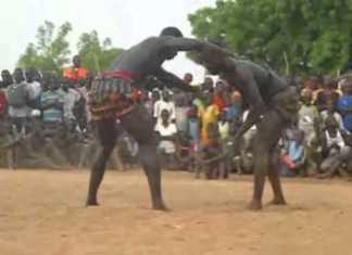La lutte traditionnelle sans frappe