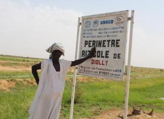 Des réfugies mauritaniens