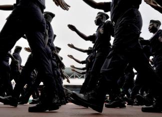 L'école de police de Cocody
