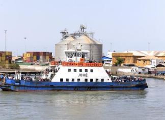 Le port de Banjul