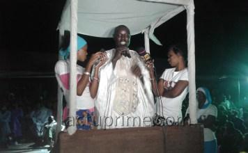 Le maire de Labgar, Idrissa Diop