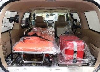 23 ambulances pour Dakar