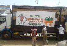 Législatives et campagne
