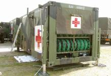 Hôpital mobile de campagne