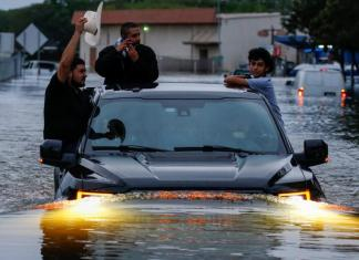 Houston, tempête Harvey