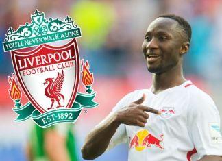 Naby Keita à Liverpool FC