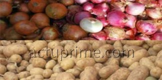 Oignon et pomme de terre