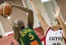 Sénégal/Egypte en basket féminin