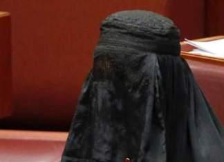 parlementaire australienne en burqa