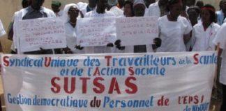 Le Sutsas en grève