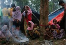 Les réfugié Rohingyas