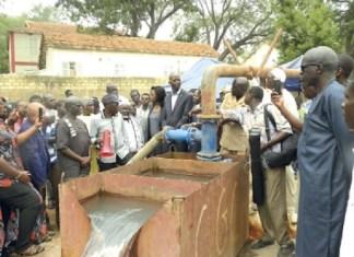 La construction de nouveaux forages à Dakar et à Thiès